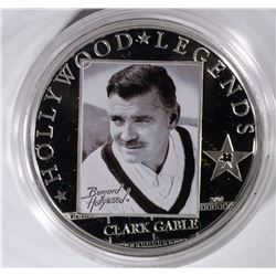 $5 COOK ISLAND $5 SILVER CLARK GABLE PROOF
