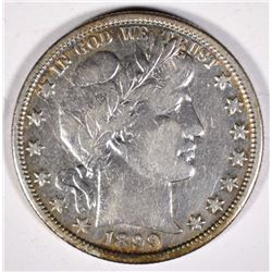 1899-O BARBER HALF DOLLAR  VF