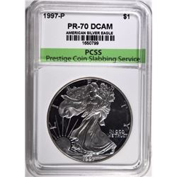 1997-P AMERICAN SILVER EAGLE PCSS PERFECT