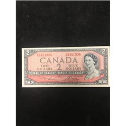 1954 BANK OF CANADA  $2 NOTE!