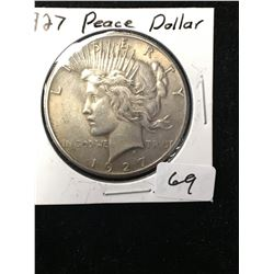 1927 USA PEACE DOLLAR!