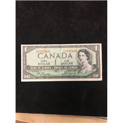 1954 BANK OF CANADA DEVILS FACE NOTE!
