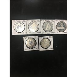 AUSTRIA SILVER COIN LOT! OVER 2.5 OZ SILVER!