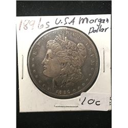 1896S USA MORGAN DOLLAR!
