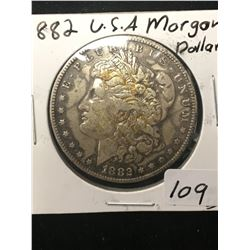 1882 USA MORGAN SILVER DOLLAR!