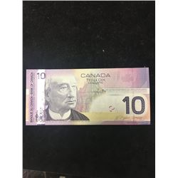 2005 BANK OF CANADA $10 NOTE.RADAR NOTE!
