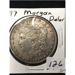 1897 USA MORGAN DOLLAR!