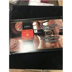 2001 CANADA PROOF SET!