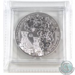 2013 Rwanda 1oz .999 Fine Silver Cheetah Fabulous 15 African Ounce in Capsule (lightly toned). TAX E