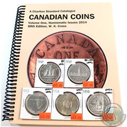 5x Canada Silver $1  1939, 1949, 1958, 1964 & 1967 in AU-UNC to BU (scratch or mark). 5pcs *Included