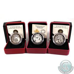 2013-2014 Canada $20 Untamed Canada Fine Silver Coin Collection (TAX Exempt). You will receive the 2
