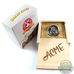 2015 Canada $20 Looney Tunes Classic Scenes Merrie Melodies Fine Silver Coin (outer cardboard sleeve