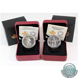 2014 $10 Mobilization of Our Nation & 2014 $5 Expeditionary Force Fine Silver Coins. Coins come enca