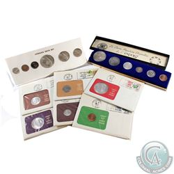 Estate lot of 1867-1967 Canada 150th Anniversary 6-Coin Year Sets in various display. Please view sc