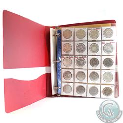1958-1986 Canada Dollar Collection with Display Album. This lot includes 11x Silver Dollars dated 19