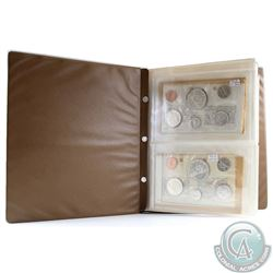 Estate Lot of Proof Like Set Unimaster Album Containing 10x Canada Proof Like Sets. You will receive
