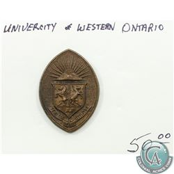 University of Western Ontario Badge.