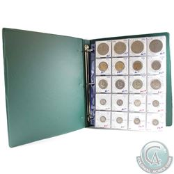 Collection of United States Coins dated 1942-2015. You will receive 18x Silver Coins and 62x non Sil