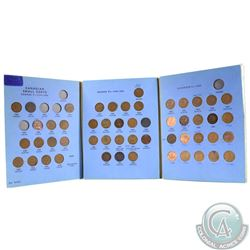 1920 to 1972 Canada 1-cent Collection in Fine to EF. You will receive one of each date Except 1922,