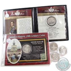 1936-1967 Canada Silver Dollar Collection. You will receive the following dates: 1936, 1939, 1952 in