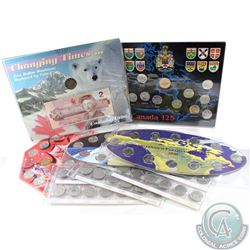 Lot of 1992-2010 Canada Commemorative Coin Sets. You will receive the 1996 Two Dollar Coin and Bankn