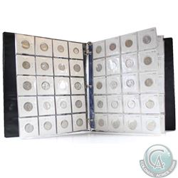 1920-2011 Canada 5-cent Collection in Storage Binder. You will receive at least one of each date bet