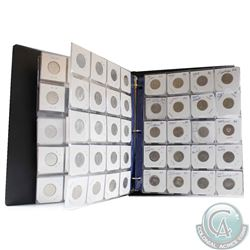 Estate Lot of 1966 to 2013 Canada 25-cent Collection in Storage Binder. You will receive at least 1