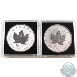 2014 Horse Privy & 2015 Sheep Privy 1oz Fine Silver Maples (TAX Exempt). Please note coins may conta