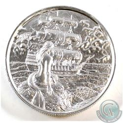 The Privateer Series - The Siren 2oz. Fine Silver Ultra High Relief Round (Tax Exempt)