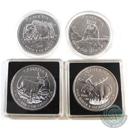 2012 & 2013 Canada $5 Wildlife 1oz Fine Silver Coins (TAX Exempt). You will receive the 2012 Moose,