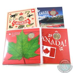 2014-2017 Canada RCM O'Canada Gift Sets. You will receive one of each date between 2014 and 2017 in