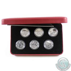 2005 Canada 50-cent Battle of Britain 6-Coin Proof Sterling Silver Set. Please note the outer cardbo