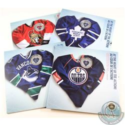 2009 Canada NHL Coin Set Collection. You will receive the following teams, Vancouver Canucks, Ottawa