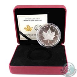 2017 $10 Canada 150 Iconic Maple Leaf 2oz. Fine Silver (TAX Exempt). Please note the outer box is no