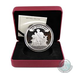 2010 Canada $50 75th Anniversary of the First Bank Notes 5oz. Silver (TAX Exempt). Please note the o