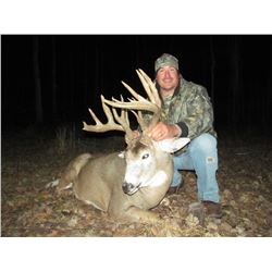 3 Days / 4 Nights Trophy Whitetail Deer Hunt for 2 Hunters in Saskatchewan, Canada.