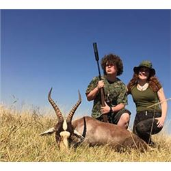 7 Day Sable, Gemsbuck, Blesbuck, Impala Hunt in South Africa for 1 Hunter