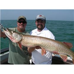 Fishing Trip for Musky on Lake St. Clair