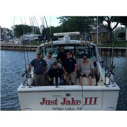 Perch or Walleye Fishing Trip for 4 People on Lake Erie