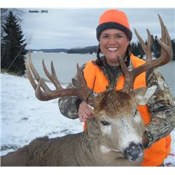 Seven Day White-tailed Deer Muzzle Loader Hunt in Northwestern Ontario for 2 Hunters