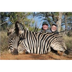 Five Day South African Safari for 2 Hunter and 2 Non-hunter