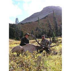 *Alberta – 6 Day – Elk and Wolf Hunt for One Hunter