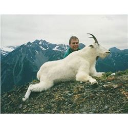 British Columbia – 9 Day- Mountain Goat Hunt One Hunter