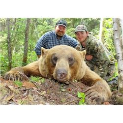 *Alberta – 6 Day – Baited Black Bear and Wolf Hunt for One Hunter