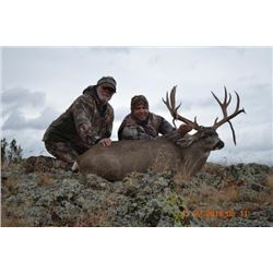 Arizona – 5 Day –Muzzleloader Hunt for Coues Deer or Mule Deer and Mt. Lion for Two Hunters