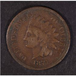 1871 INDIAN HEAD CENT  ALMOST FINE