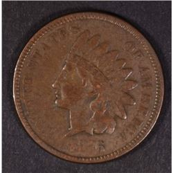 1876 INDIAN HEAD CENT  XF