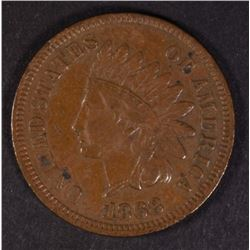 1868 INDIAN HEAD CENT FULL  XF