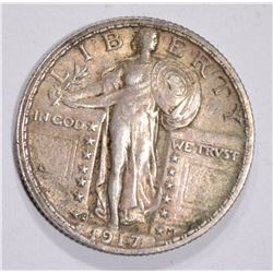 1917-S T-2 STANDING LIBERTY QUARTER