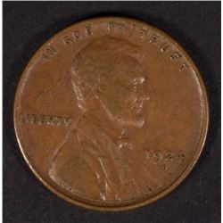 1924-D LINCOLN CENT XF